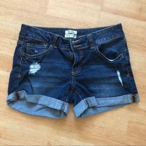 Mudd Distressed Shorts